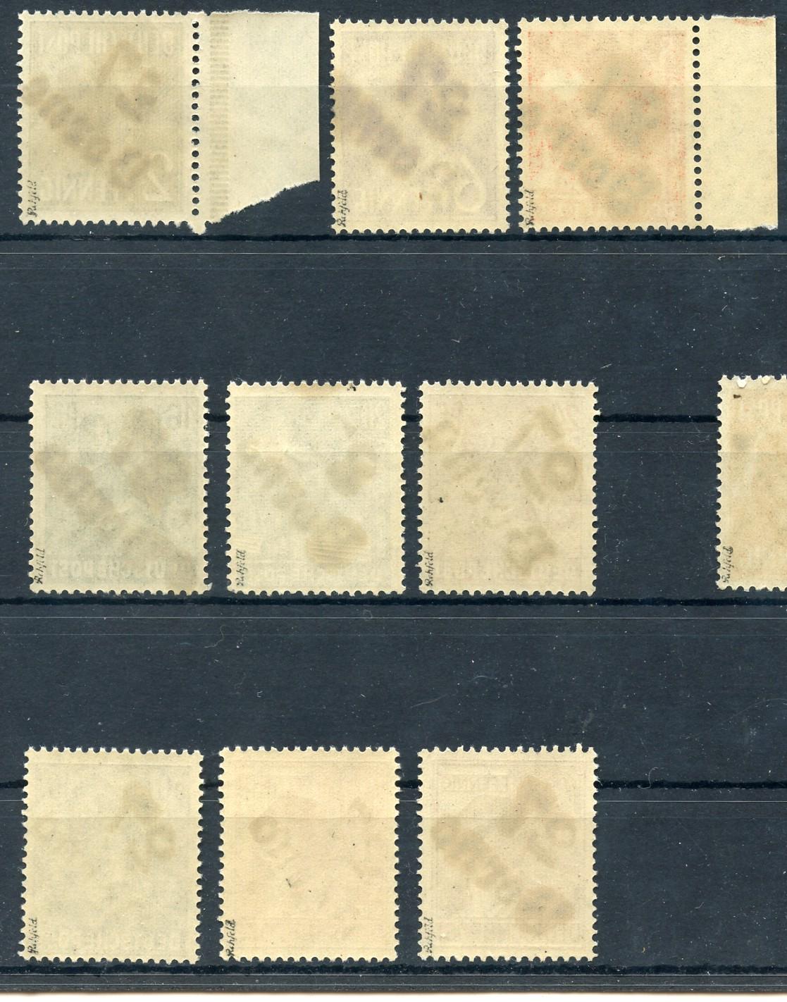 sbz bezirksstempel satz opd leipzig bezirk 27 alle gepr ft bilder im angebot ebay. Black Bedroom Furniture Sets. Home Design Ideas